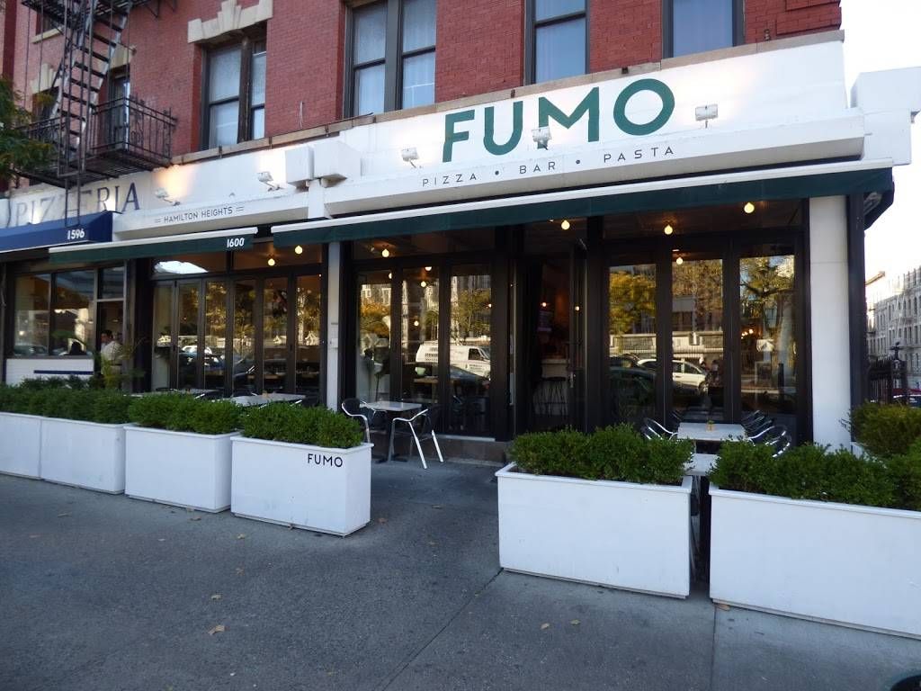 Fumo Pizza-Bar-Pasta | restaurant | 1600 Amsterdam Ave, New York, NY 10031, USA | 6466926675 OR +1 646-692-6675