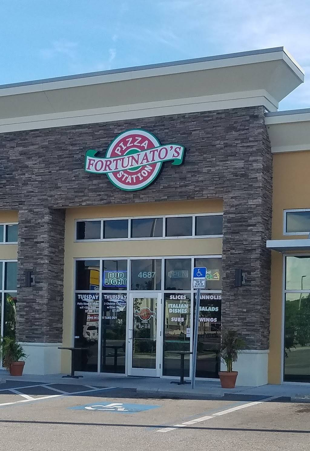 Fortunatos Pizza Station | meal delivery | 4687 Park Blvd N, Pinellas Park, FL 33781, USA | 7272909240 OR +1 727-290-9240