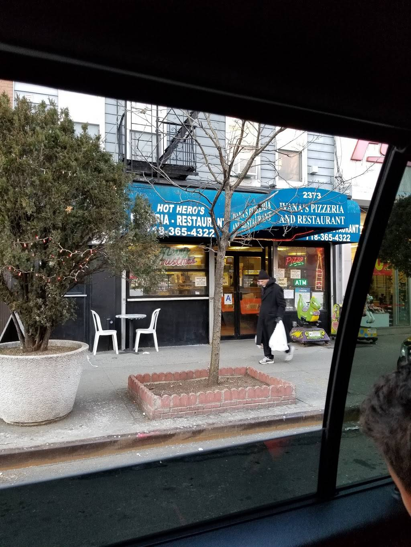 Ivanas Pizzeria | restaurant | 2373 Arthur Ave, Bronx, NY 10458, USA | 7183654322 OR +1 718-365-4322