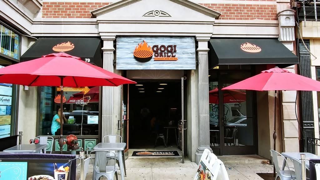 Gogi Grill | restaurant | 79 Hudson St, Hoboken, NJ 07030, USA | 2017924504 OR +1 201-792-4504