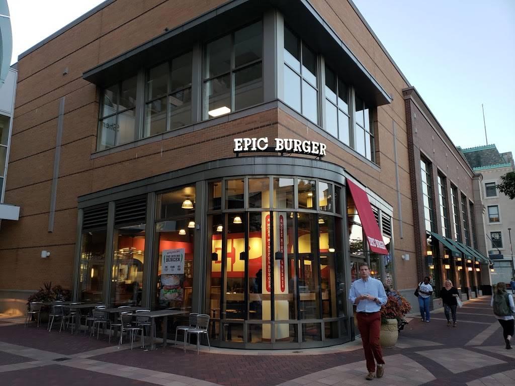 Epic Burger | restaurant | 1622 Sherman Ave, Evanston, IL 60201, USA | 8478688968 OR +1 847-868-8968