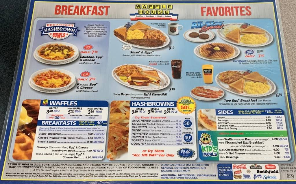 Waffle House | meal takeaway | 43145 S Airport Rd, Hammond, LA 70403, USA | 9854191618 OR +1 985-419-1618
