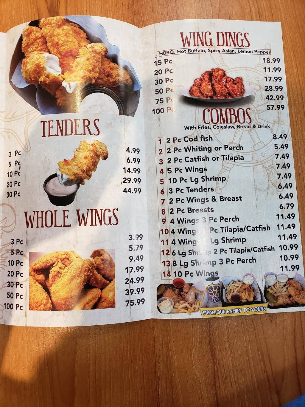 Captain Jays Fish & Chicken | restaurant | 22711 Kelly Road ste c ste c, Eastpointe, MI 48021, USA | 5867773474 OR +1 586-777-3474