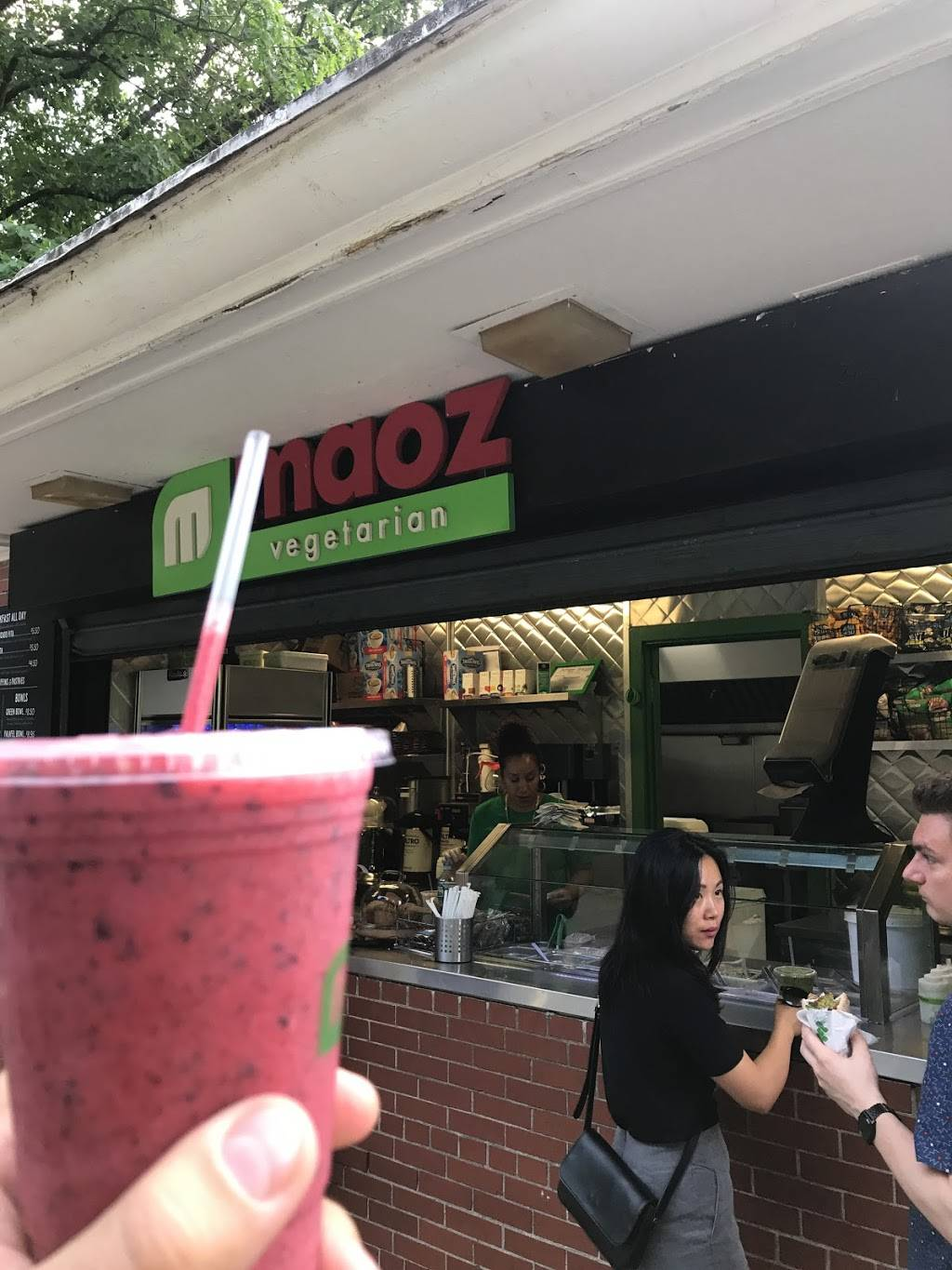 Maoz Vegetarian | restaurant | 5th Ave & E 106th St, New York, NY 10029, USA