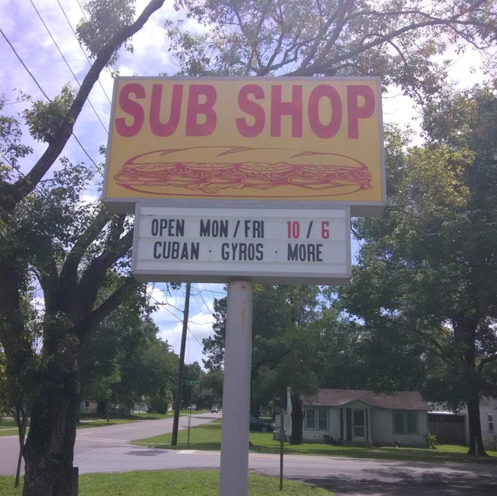 Scotts Sub Shop   restaurant   5707 8th St, Zephyrhills, FL 33542, USA   8135517179 OR +1 813-551-7179