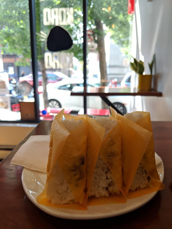 Koro Koro Rice Ball Cafe   restaurant   538 Jersey Ave, Jersey City, NJ 07302, USA   2014322033 OR +1 201-432-2033