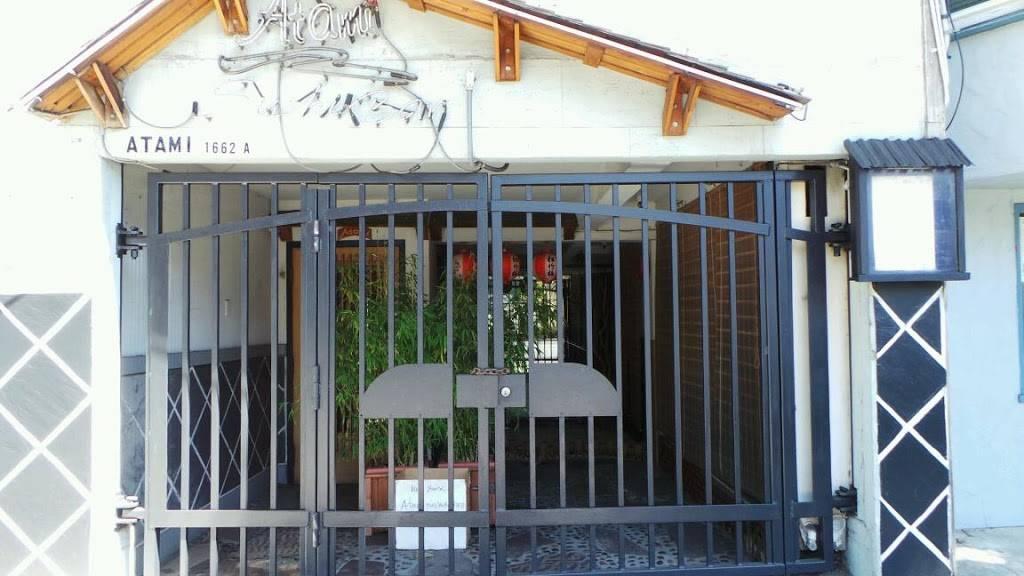Atami Sushi Bar & Grill   restaurant   1662 Lombard St, San Francisco, CA 94123, USA   4156141958 OR +1 415-614-1958