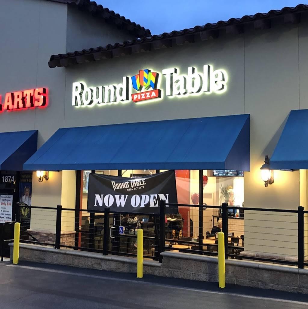 Round Table Pizza Restaurant 1876 S Pacific Coast Hwy Redondo Beach Ca 90277 Usa