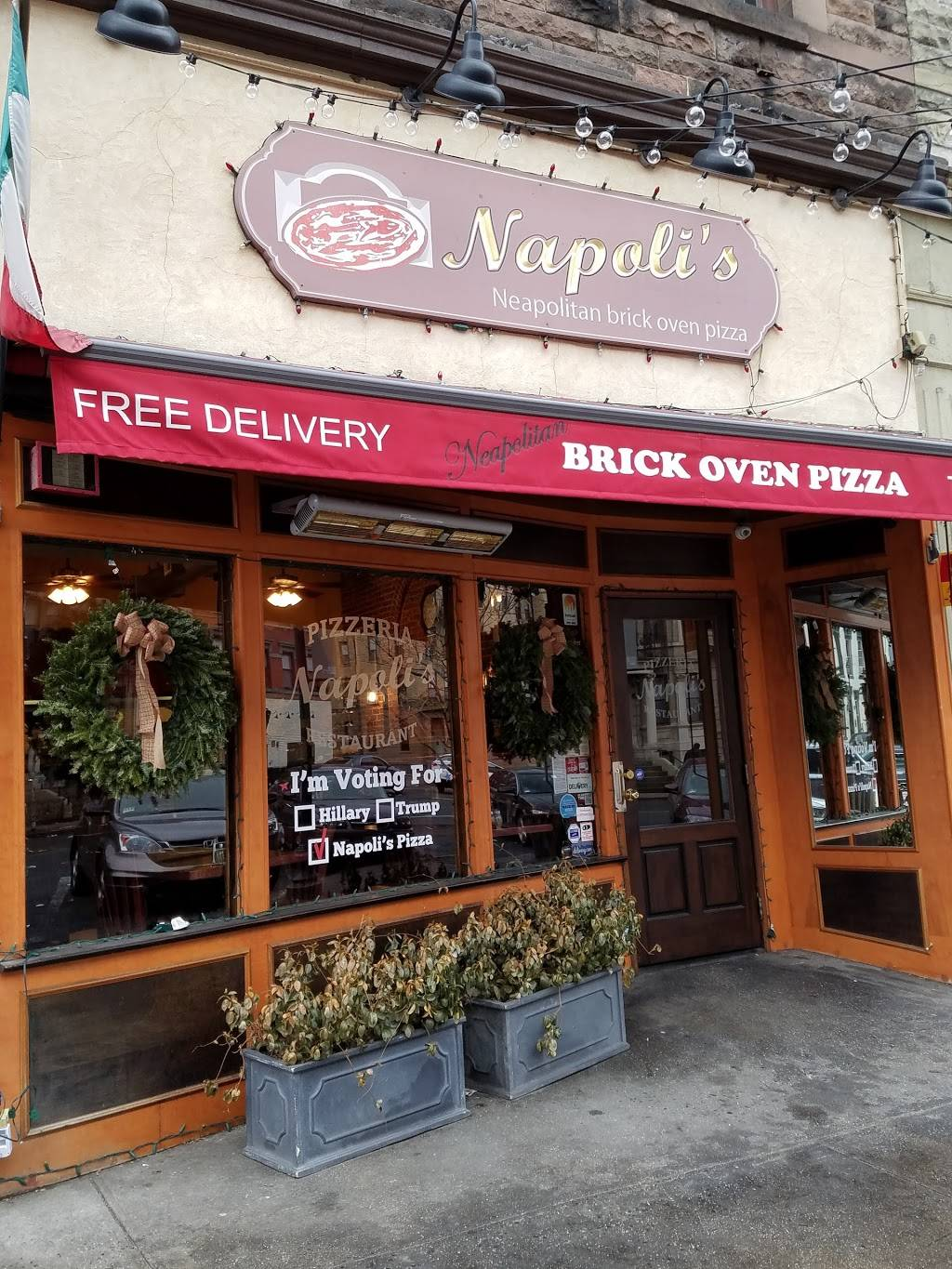 Napolis Pizza | restaurant | 1118 Washington St, Hoboken, NJ 07030, USA | 2012160900 OR +1 201-216-0900