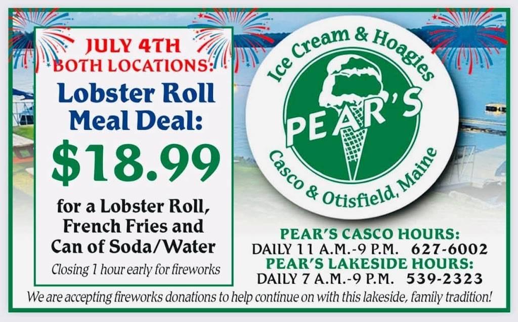 Pears Lakeside | restaurant | 96 ME-121, Otisfield, ME 04270, USA | 2075392323 OR +1 207-539-2323