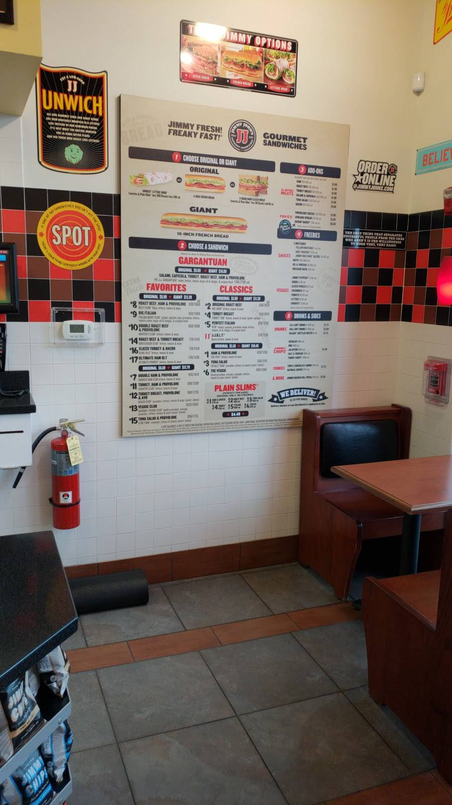 Jimmy Johns | meal delivery | 1450 W Lake St, Addison, IL 60101, USA | 6307731900 OR +1 630-773-1900