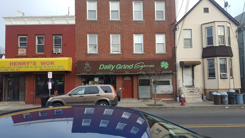 Daily Grind Express   restaurant   352 West Side Ave # A, Jersey City, NJ 07305, USA   2013323335 OR +1 201-332-3335