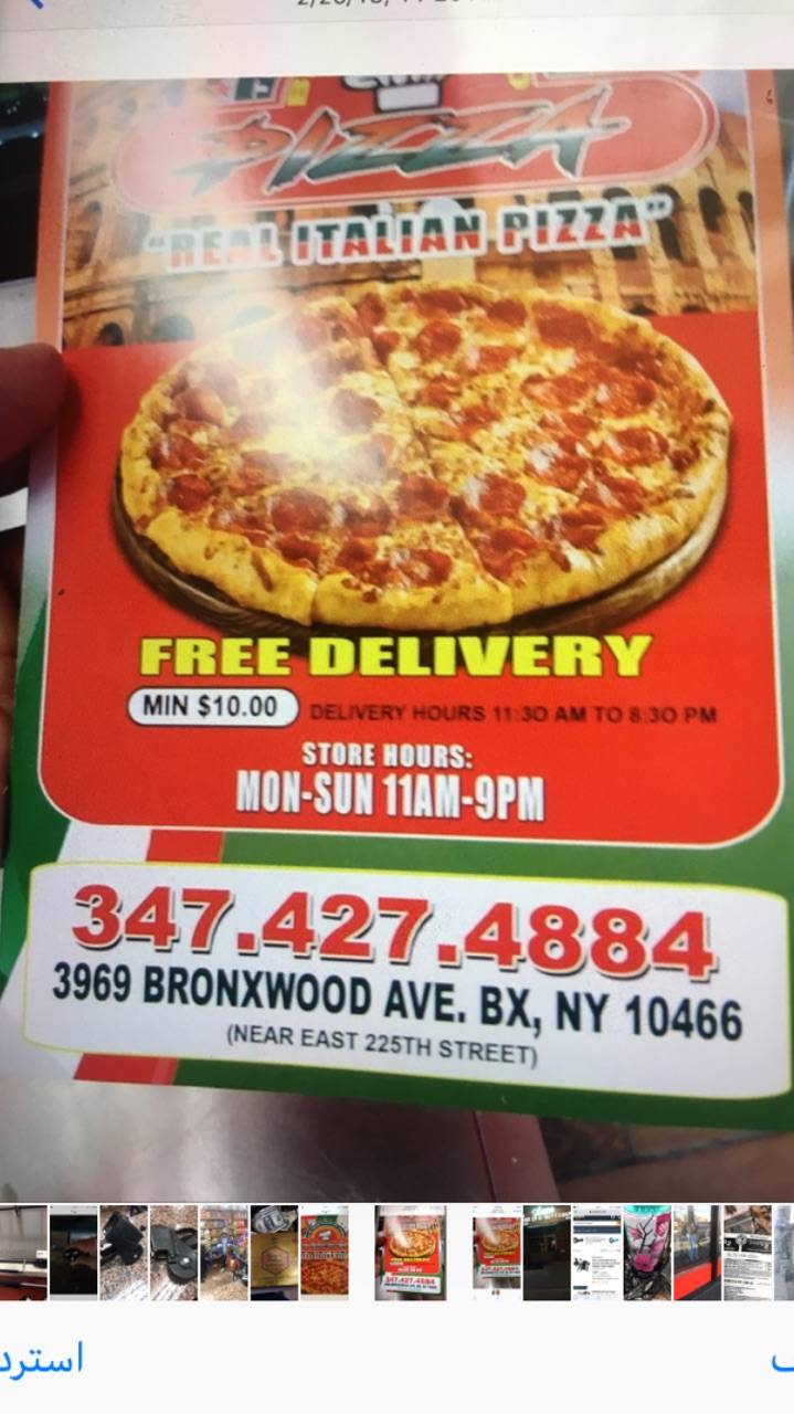 Real italian pizza | restaurant | 3969 Bronxwood Ave, Bronx, NY 10466, USA | 3474274884 OR +1 347-427-4884