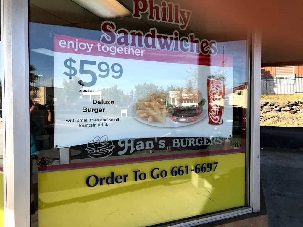 Hans Burger | restaurant | 2120 SW 336th St, Federal Way, WA 98023, USA | 2536616697 OR +1 253-661-6697