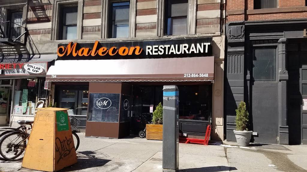 Malecon | restaurant | 764 Amsterdam Ave, New York, NY 10025, USA | 2128645648 OR +1 212-864-5648