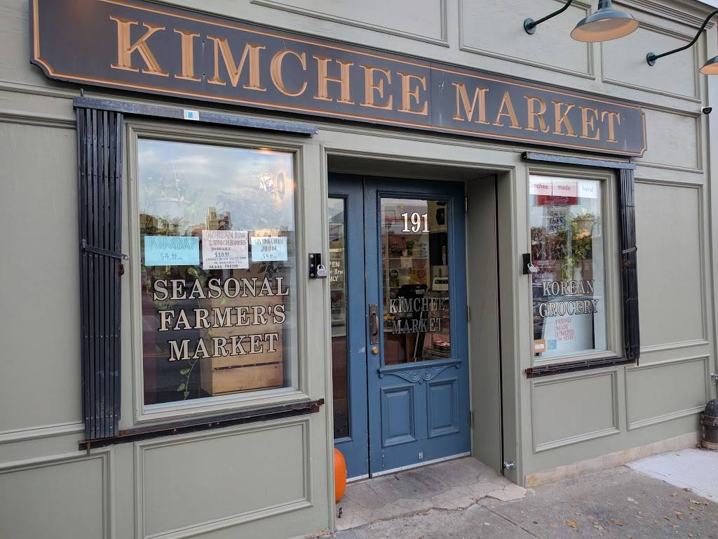 Kimchee Market | restaurant | 191 Greenpoint Ave, Brooklyn, NY 11222, USA | 7183895544 OR +1 718-389-5544
