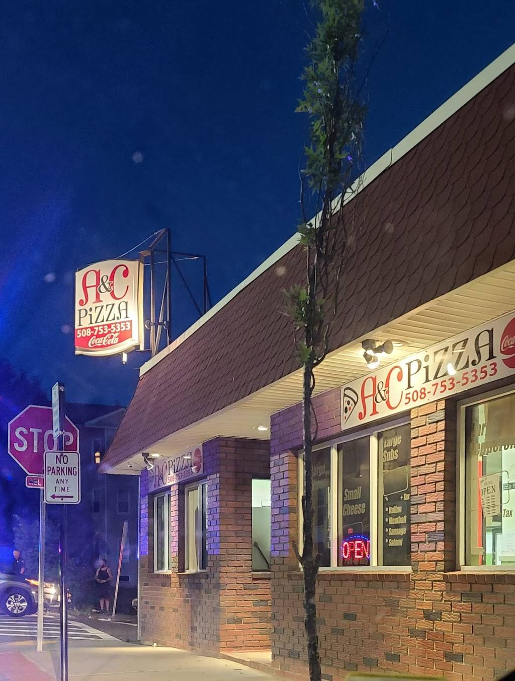 A&C Pizza | restaurant | 90 Providence St, Worcester, MA 01604, USA | 5087535353 OR +1 508-753-5353