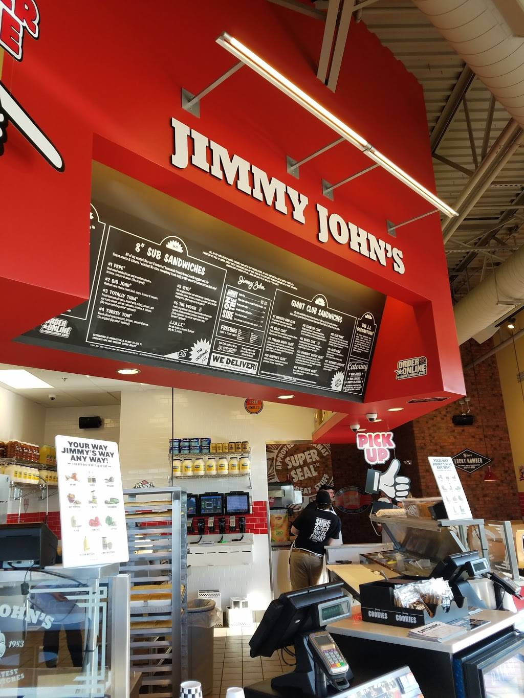 Jimmy Johns | meal delivery | 1939 Old Hwy 135 Ste. E, Corydon, IN 47112, USA | 8127384000 OR +1 812-738-4000