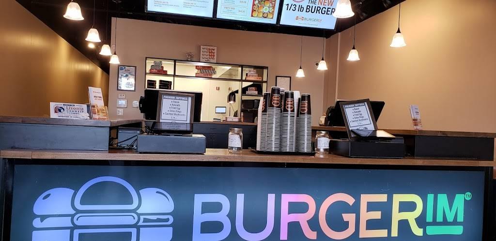 Burgerim Gourmet Burgers | restaurant | 30991 Five Mile Road b122, Livonia, MI 48154, USA | 7347446831 OR +1 734-744-6831