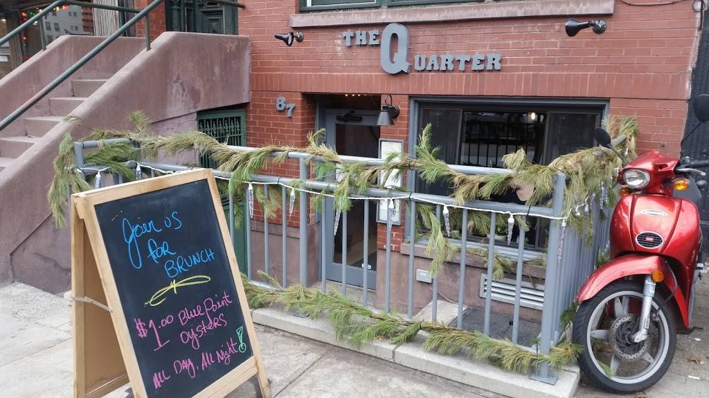The Quarter | restaurant | 87 Lafayette Ave, Brooklyn, NY 11217, USA | 3479874012 OR +1 347-987-4012