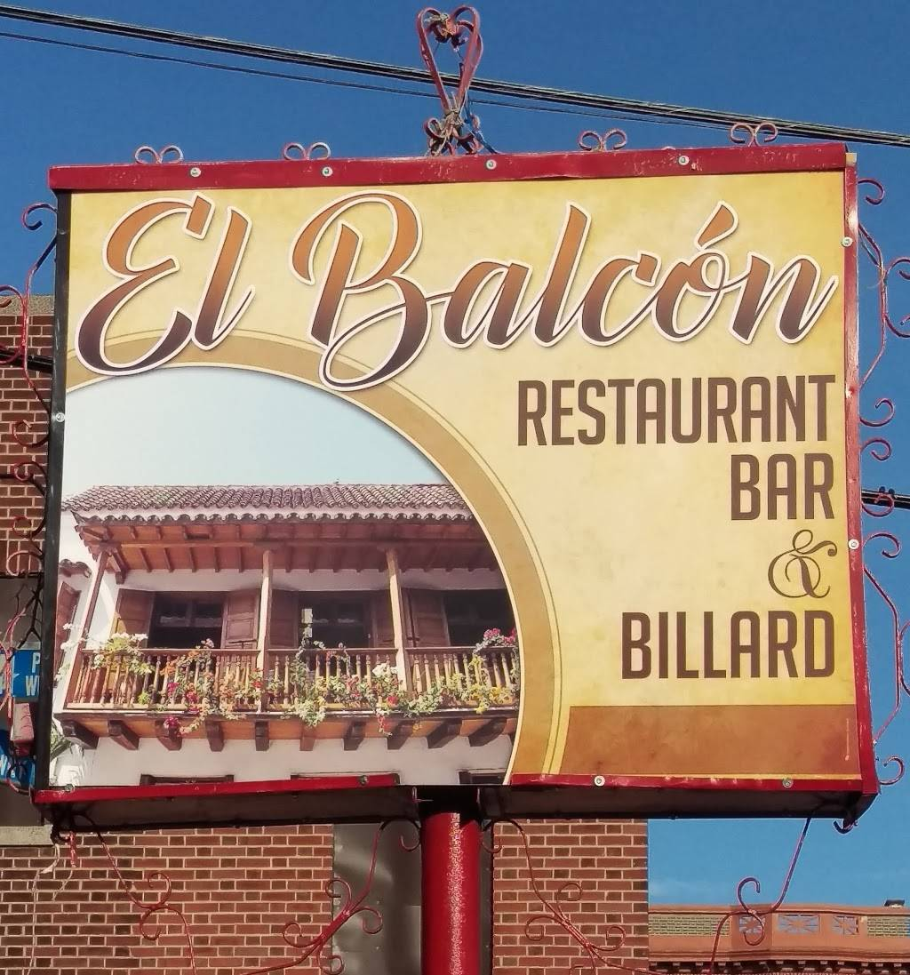 El Balcon Restaurant Bar & Billiard | restaurant | 520 60th St, West New York, NJ 07093, USA | 2015909031 OR +1 201-590-9031