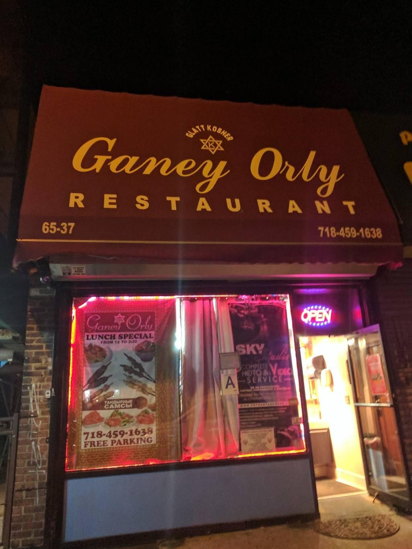 Ganey Orly | restaurant | 6537 99th St, Rego Park, NY 11374, USA | 7184591638 OR +1 718-459-1638