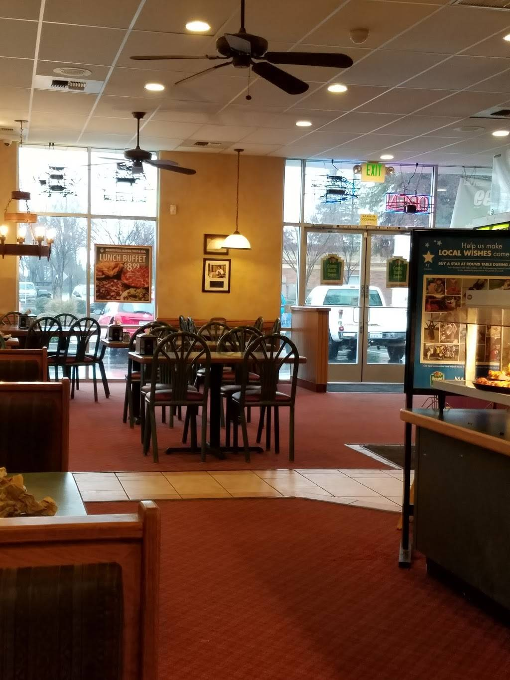 Round Table Marysville.Round Table Pizza Meal Delivery 202 9th St Marysville Ca 95901