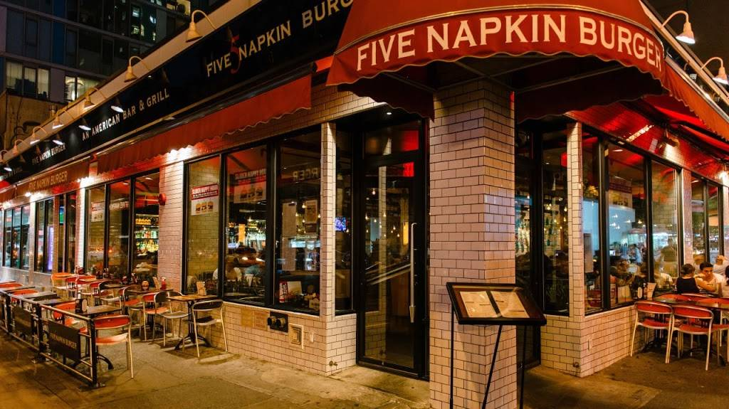 5 Napkin Burger | restaurant | 2315 Broadway, New York, NY 10024, USA | 2123334488 OR +1 212-333-4488