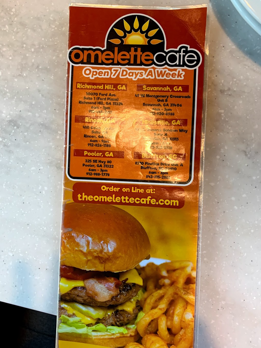 Omelette Cafe   restaurant   8210 Pinellas Dr, Bluffton, SC 29910, USA   8438152888 OR +1 843-815-2888
