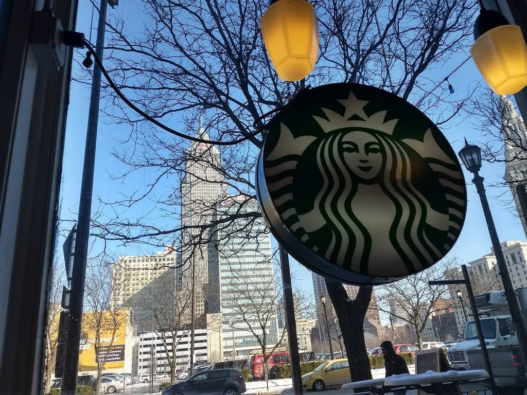 Starbucks | cafe | 1374 W 6th St, Cleveland, OH 44113, USA | 2165667489 OR +1 216-566-7489