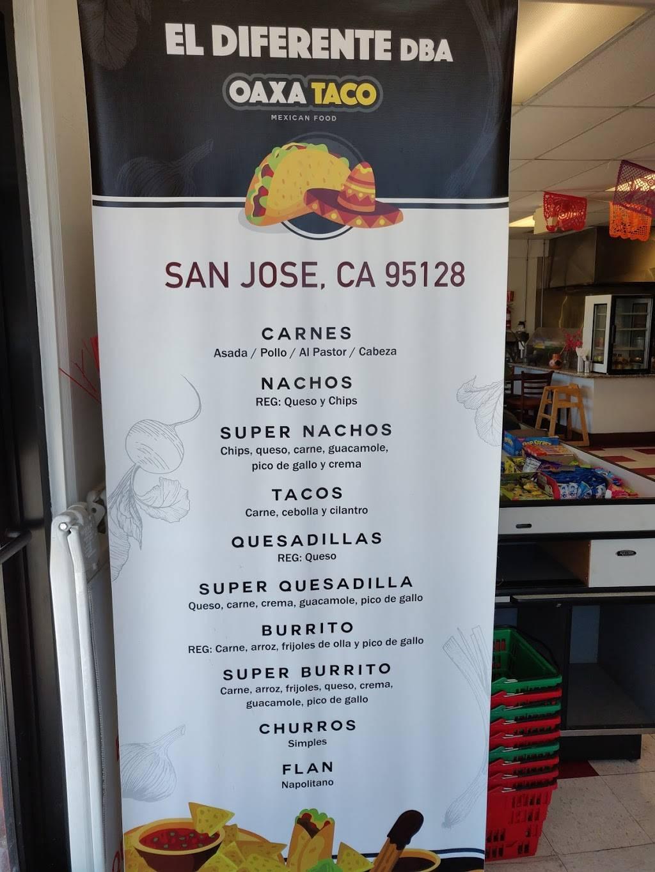 El Diferente Loncheria | restaurant | 1198 Vine St, San Jose, CA 95110, USA | 4082186578 OR +1 408-218-6578