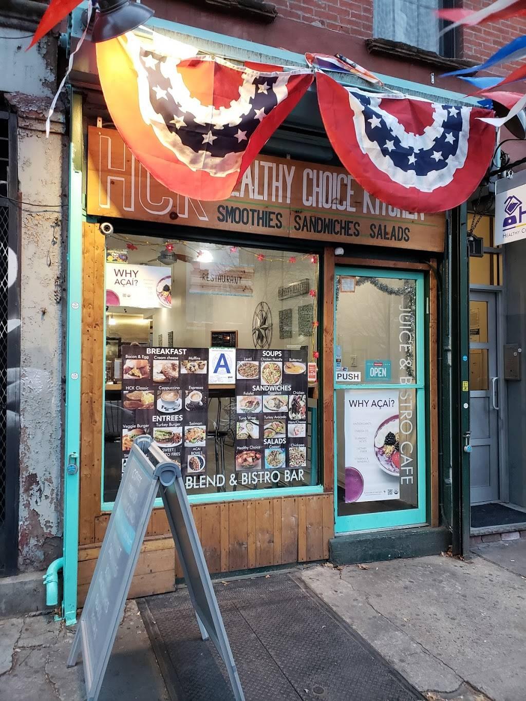 Healthy Choice Kitchen | cafe | 181 Graham Ave, Brooklyn, NY 11206, USA | 7184122403 OR +1 718-412-2403