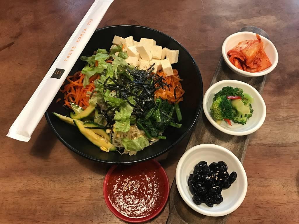 Taste Korea 232 | restaurant | 232 Taaffe Pl, Brooklyn, NY 11205, USA | 7186232232 OR +1 718-623-2232