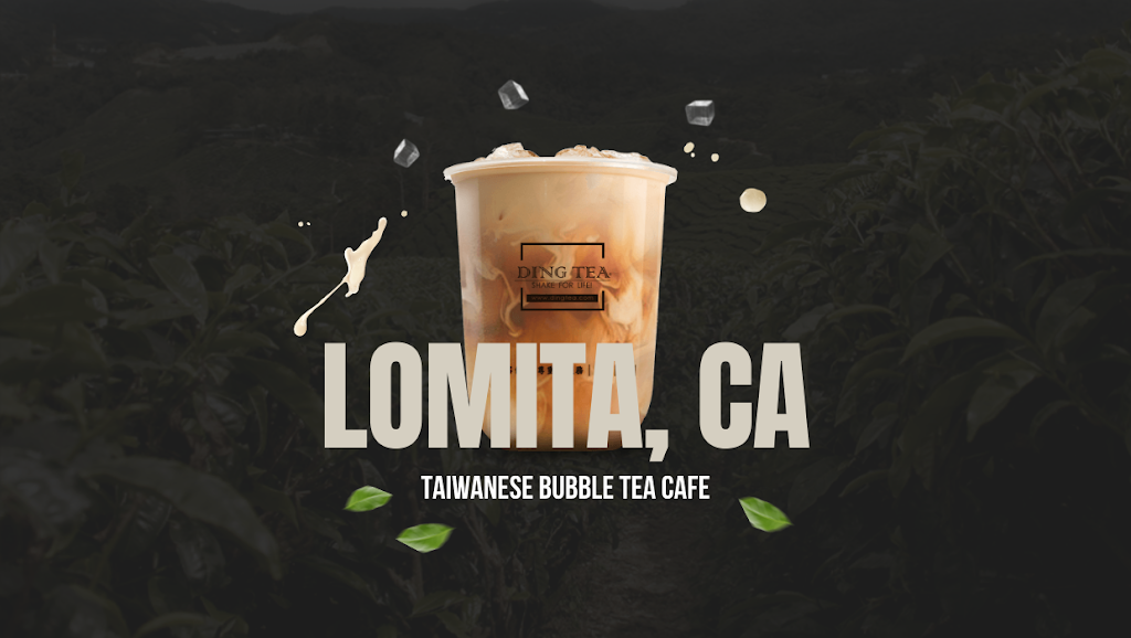 Ding Tea Lomita | cafe | 24705 Narbonne Ave #101, Lomita, CA 90717, USA | 4243054055 OR +1 424-305-4055