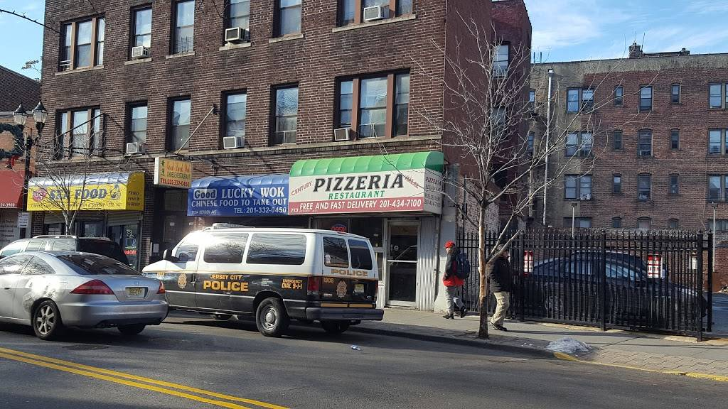 Century One Pizza   meal delivery   713 Bergen Ave, Jersey City, NJ 07306, USA   2014347100 OR +1 201-434-7100