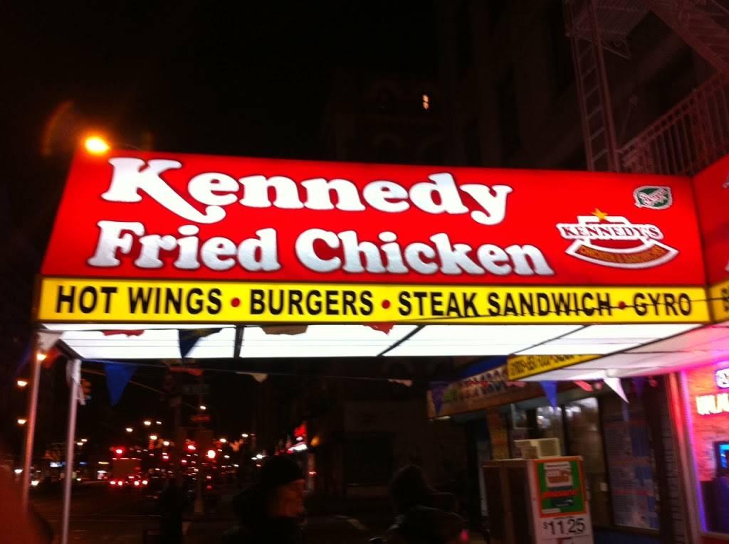 Kennedy fried chicken | restaurant | 381 Bedford Park Blvd, Bronx, NY 10458, USA | 7185626262 OR +1 718-562-6262