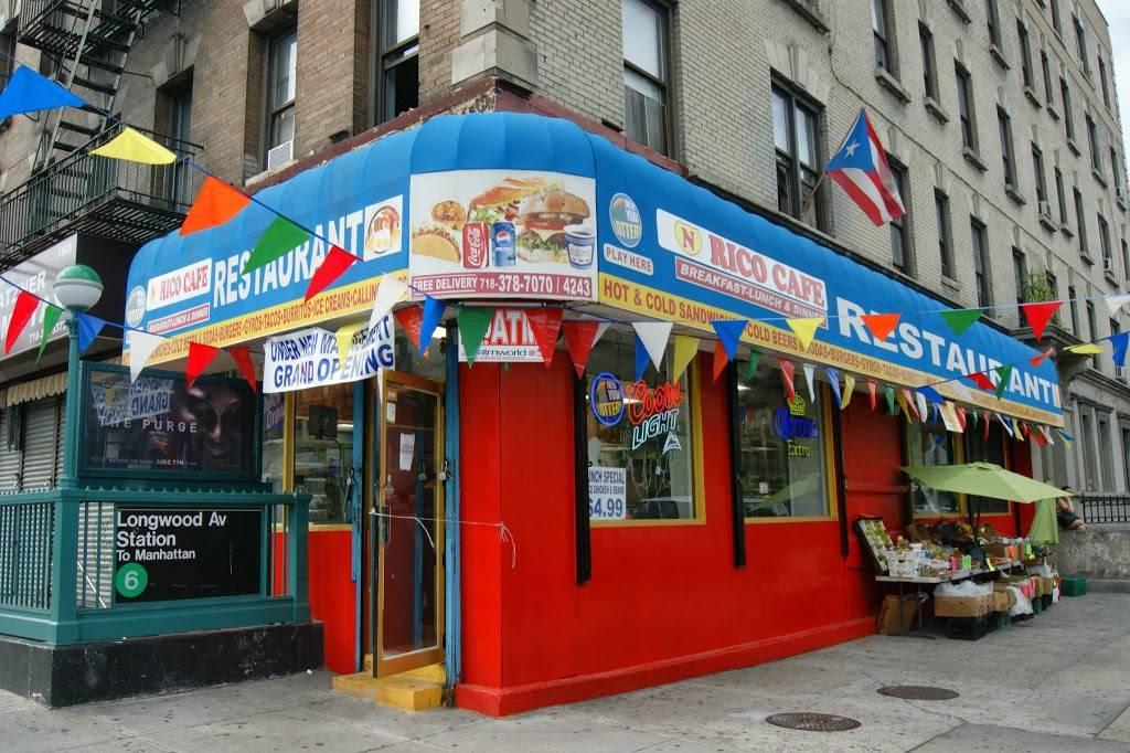 N Rico   restaurant   801 Southern Blvd # A, Bronx, NY 10459, USA   7183787070 OR +1 718-378-7070