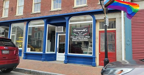 Ciccarellis Gelateria | meal takeaway | 153 Water St, Hallowell, ME 04347, USA