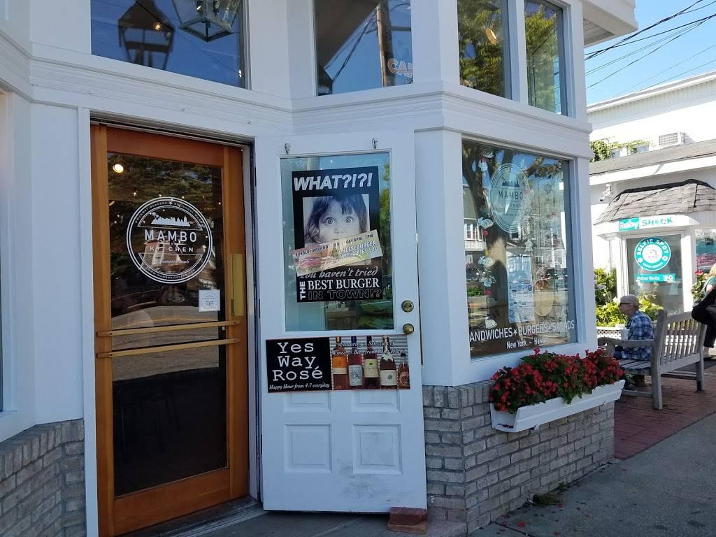 Mambo Kitchen | restaurant | 103 Main St, Westhampton Beach, NY 11978, USA | 6316849269 OR +1 631-684-9269