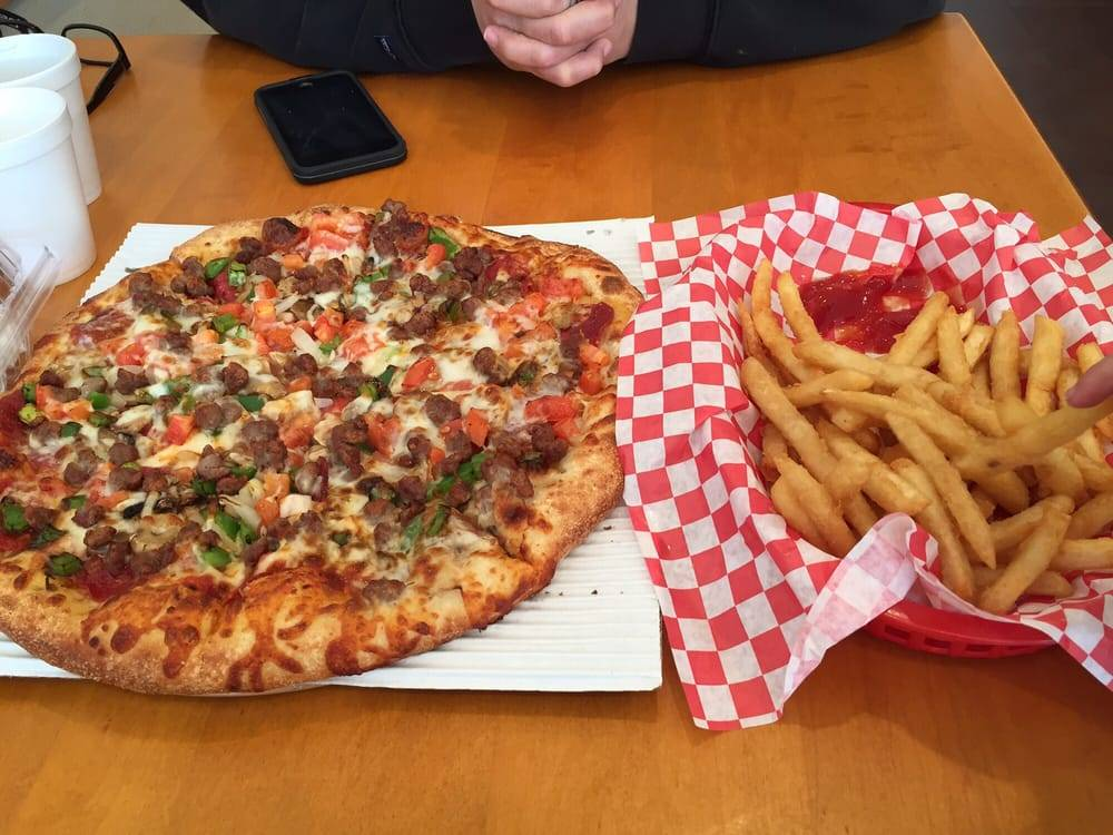 Seniores Pizza | meal delivery | 730 Kains Ave, San Bruno, CA 94066, USA | 6509524100 OR +1 650-952-4100