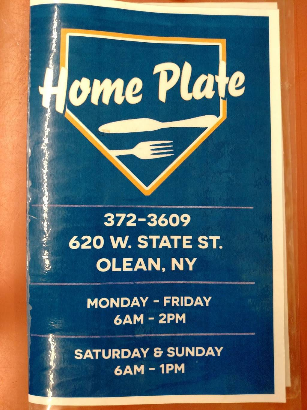 Home Plate | restaurant | 620 W State St, Olean, NY 14760, USA | 7163723609 OR +1 716-372-3609
