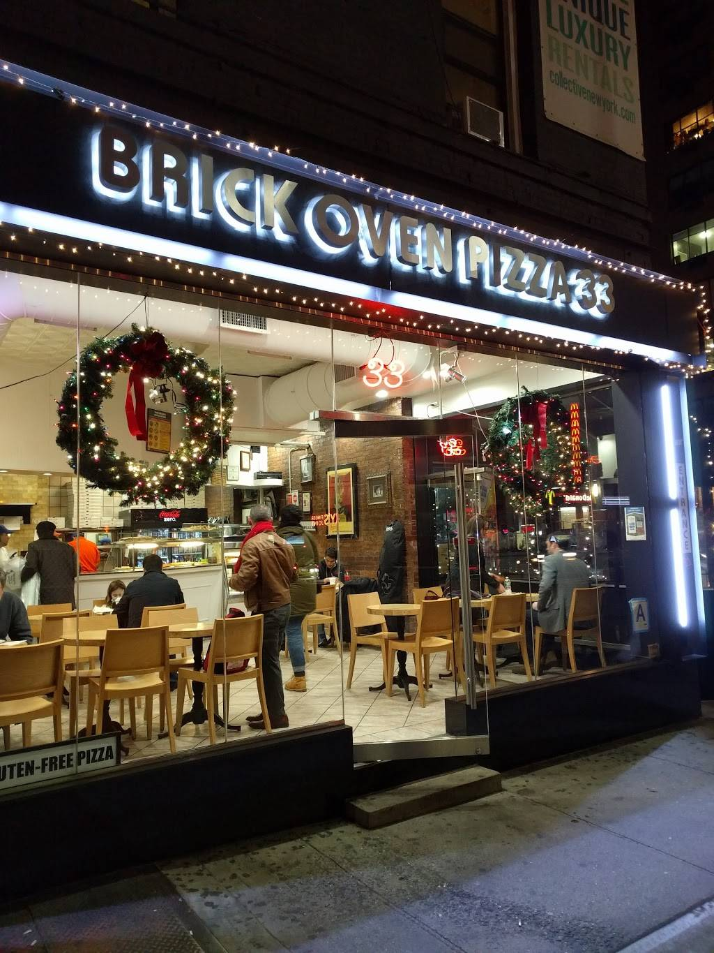Brickoven Pizza 33 | meal delivery | 489 3rd Ave, New York, NY 10016, USA | 2125459191 OR +1 212-545-9191