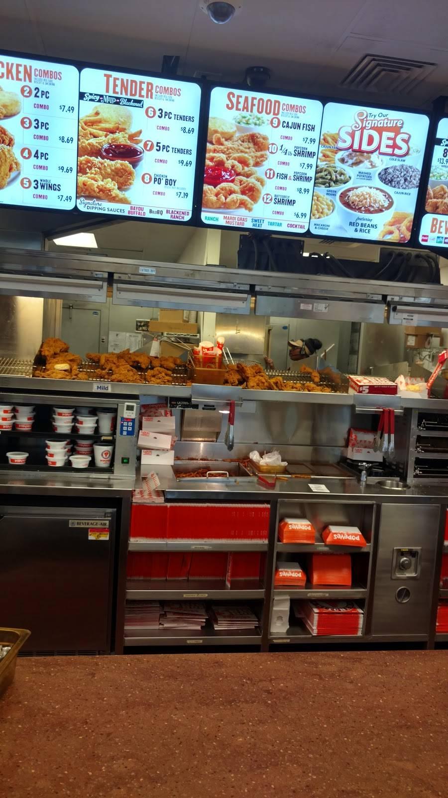 Popeyes Louisiana Kitchen   restaurant   275 N Delsea Dr, Vineland, NJ 08360, USA   8566920301 OR +1 856-692-0301
