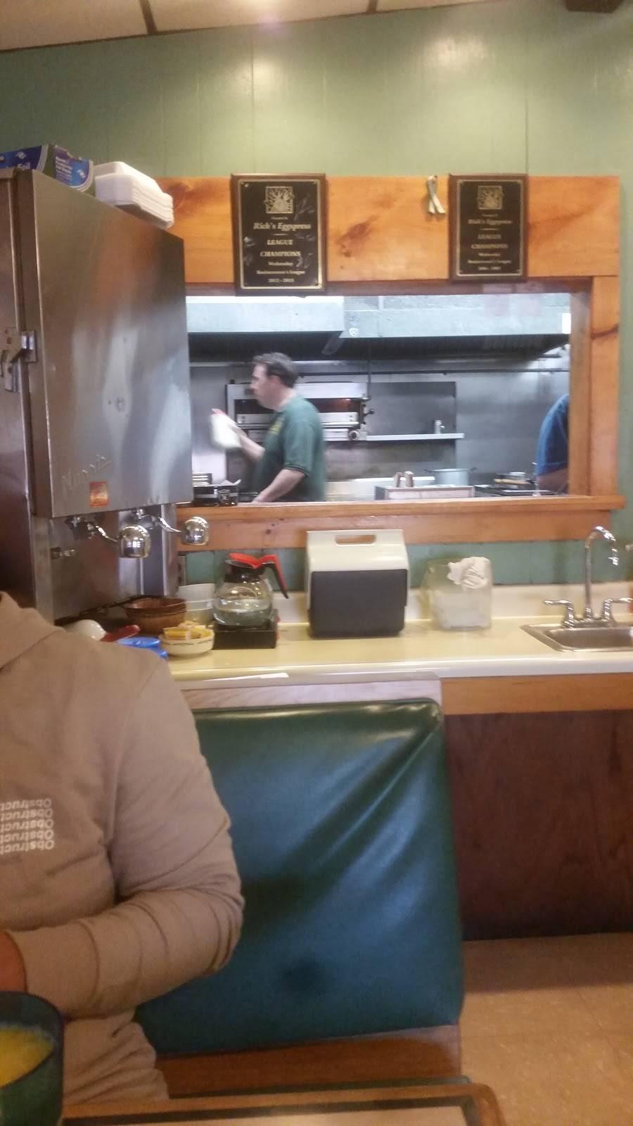 Richs Eggspress   restaurant   1622 Thomaston Ave, Waterbury, CT 06704, USA   2037556105 OR +1 203-755-6105