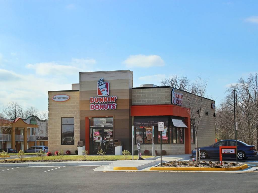 Dunkin | cafe | 551 Warrenton Rd, Fredericksburg, VA 22406, USA | 5403711277 OR +1 540-371-1277