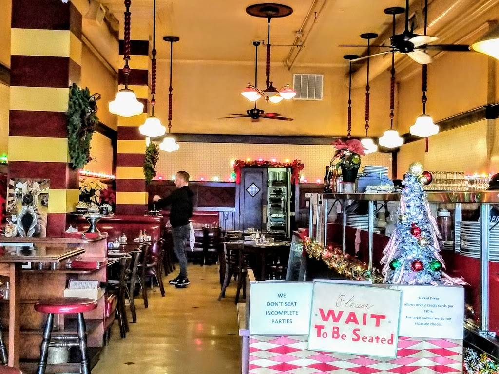 Nickel Diner | restaurant | 524 S Main St, Los Angeles, CA 90013, USA | 2136238301 OR +1 213-623-8301