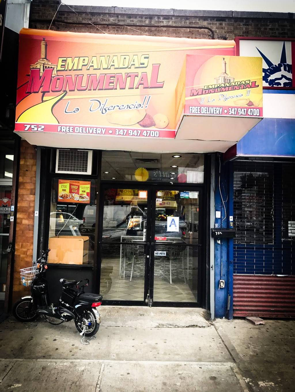 Empanadas monumental   restaurant   752 Allerton Ave, Bronx, NY 10467, USA   3479474700 OR +1 347-947-4700