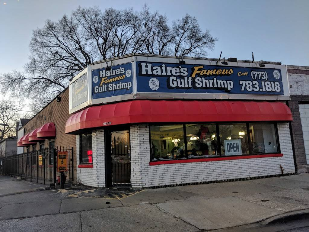 Haires Gulf Shrimp | restaurant | 7448 S Vincennes Ave, Chicago, IL 60620, USA | 7737831818 OR +1 773-783-1818