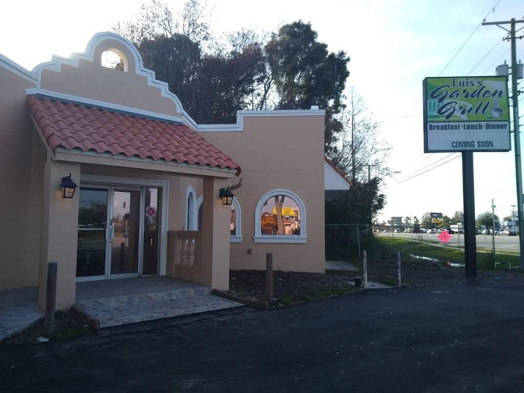 Luiss Garden Grill | restaurant | 4502 W Hillsborough Ave, Tampa, FL 33614, USA | 8135708000 OR +1 813-570-8000