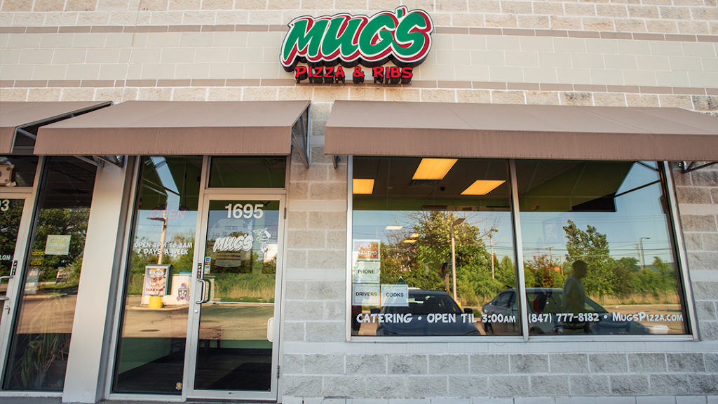 Mugs Pizza & Ribs   meal takeaway   1695 Weiland Rd, Buffalo Grove, IL 60089, USA   8477778182 OR +1 847-777-8182